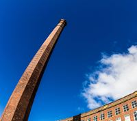 Mile End Mill and Chimney Stack